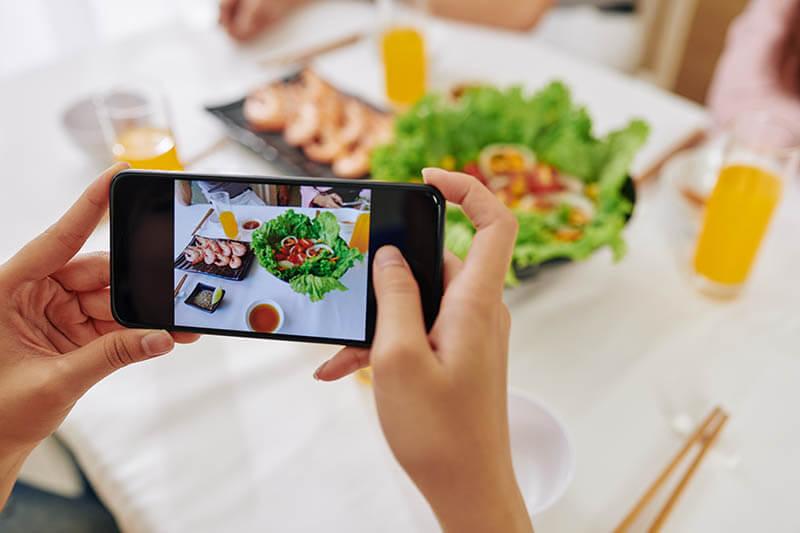 Condivisione foto ristorante