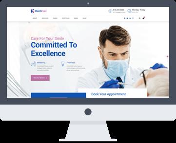 creazione sito per dentista