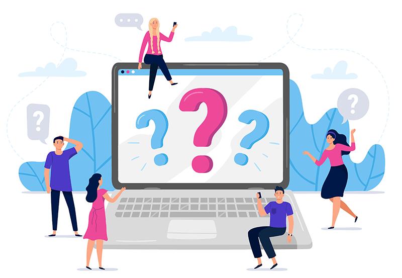 domande sui social network