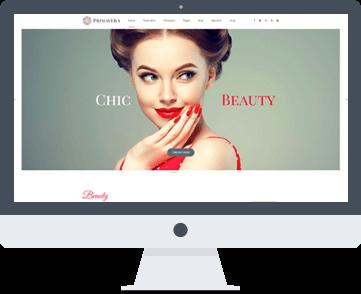 sito web per estetiste