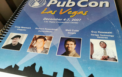 Brochure Pub Con 2007