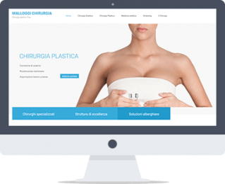 Restyling sito web chirurgia
