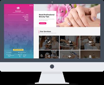 sito web per estetista