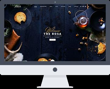 sito web per ristorante