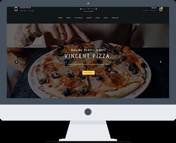 sito web per ristorante/pizzeria