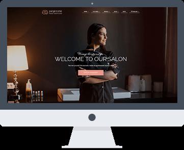 sito web per centri estetici