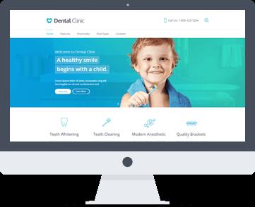 sito web dentista per bambini